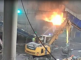 Avfallsbransjen er interessert i brannforebygging