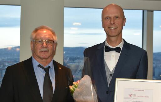 Arnstein Fedøy fikk utdanningspris