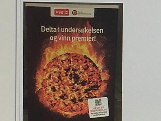 Pizzabranner: Tar ikke livet av noen