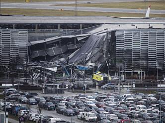 Storbrann i parkeringshus: Infernoet mange har fryktet