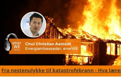 Ny podkast om brannsikkerhet