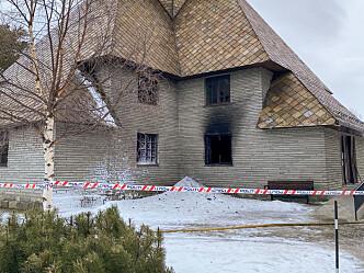 Dombås kirke: Vanskelig brann og store skader