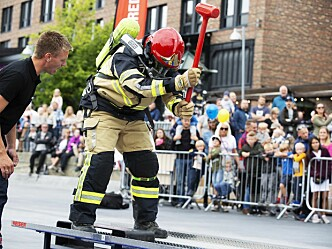 Tidenes første NM i Brannsport i Stavanger
