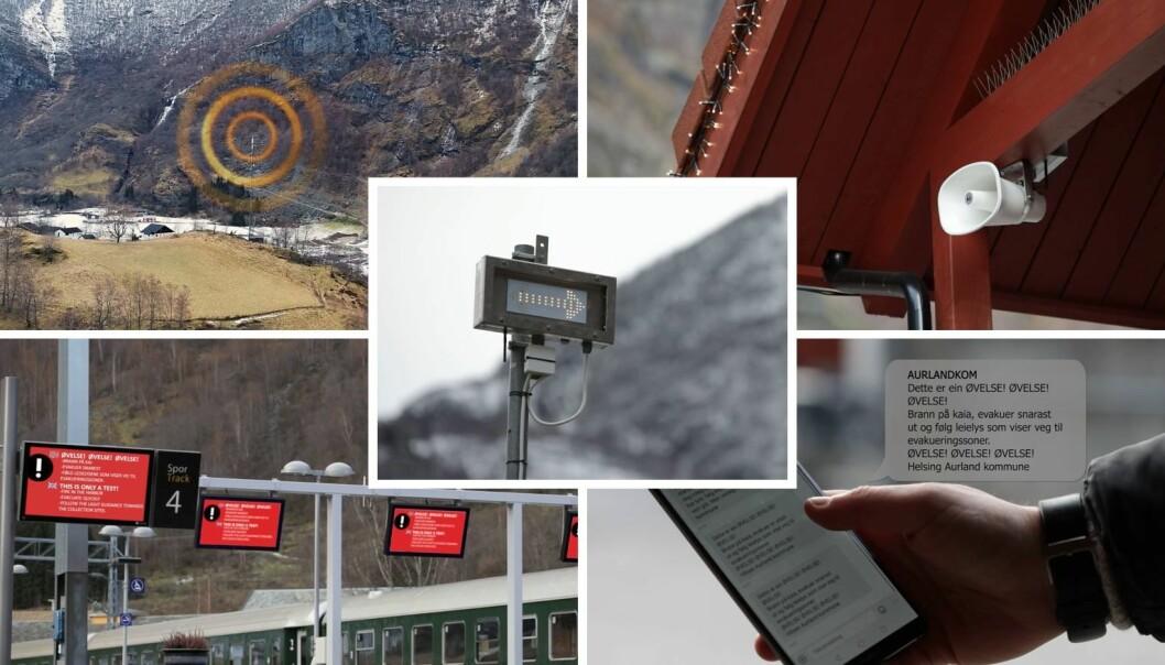 Folk skal få beskjed på alle plattformer og i alle kanaler når det oppstår en krise (foto: Paneda).