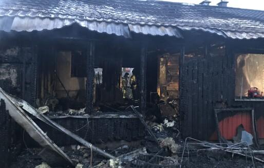 Dødsbrann i kommunal bolig krevde to liv