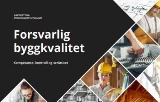 Byggkvalitetsutvalgets rapport: Høringsfrist utsettes til 1. september