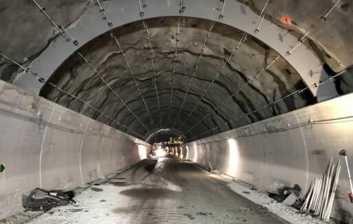 Innovasjon Norge med støtte til utvikling av brannsikre tunnelhvelv