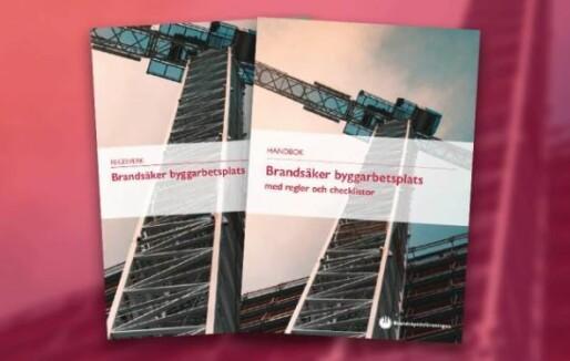 Brannsikkerhet på byggeplass – svensk håndbok om temaet
