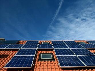 Forskning på solceller og brannsikkerhet