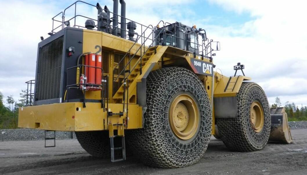 Det er snakk om store og dyre maskiner som vil kunne forårsake alvorlige skader om de brenner (foto: Norgem).