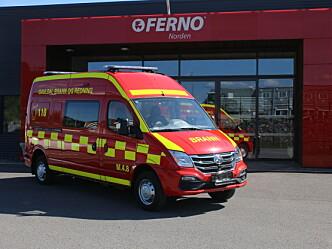 Ny redningsbil for evakuering i tunnelbranner