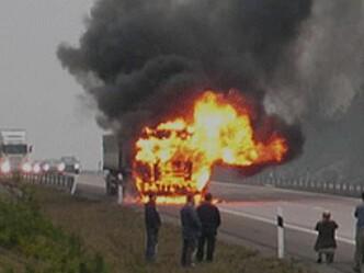 Konferanse om branner i kjøretøy