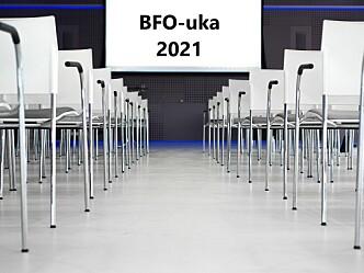 Årets BFO-uke flyttes til september neste år