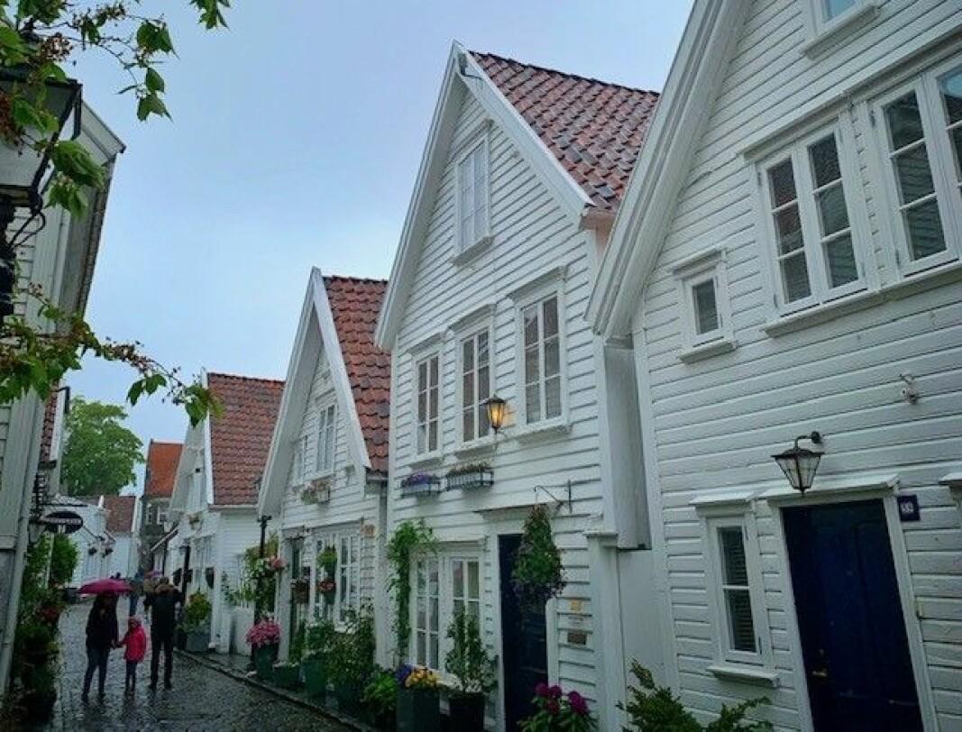 Øvre Strandgate, Gamle Stavanger.