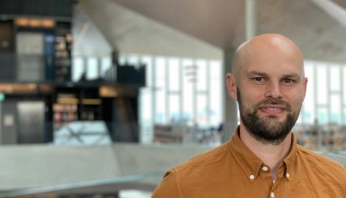 Vegard Ervik Olsen er brannrådgiver i Multiconsult, og har jobbet med brannkonseptet til Deichman Bjørvika.