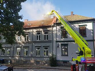 God brannsikring forhindret storbrann i Gamlebyen i Fredrikstad