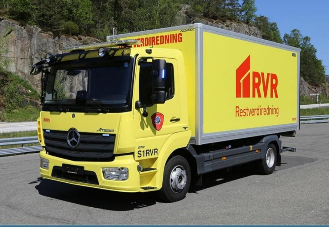 RVR-bilen som mange brannvesen har.