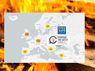 Interessert i hva som skjer når det gjelder brannsikkerhet i Europa?