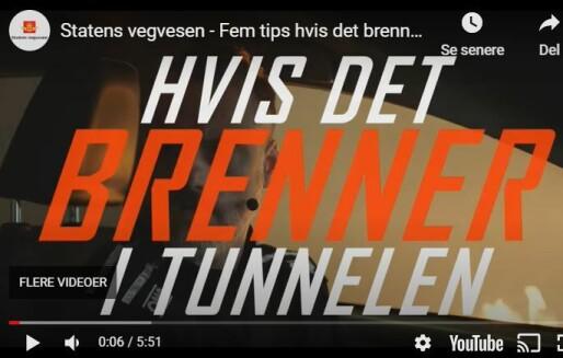 Har kampanje om selvredning i tunnelbranner nådd frem?