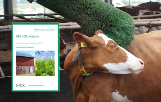 NEK 400 Landbruk lansert: Egen veiledning om korrosjonsproblematikk