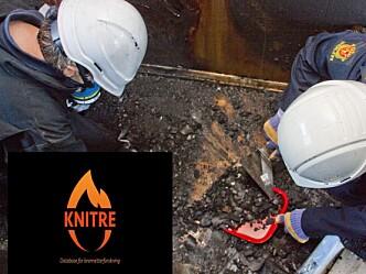 Knitre: Etterlengtet kunnskapsdatabase for brannetterforskere