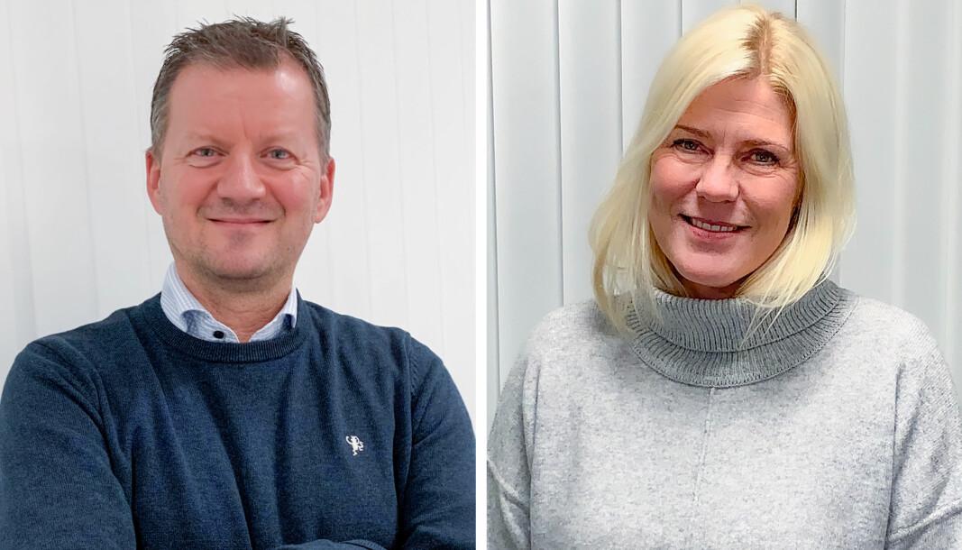 Steffan Larsen og Vibeche Tveit.