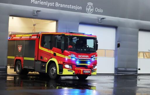 Ny midlertidig brannstasjon på Marienlyst i drift fra i ettermiddag