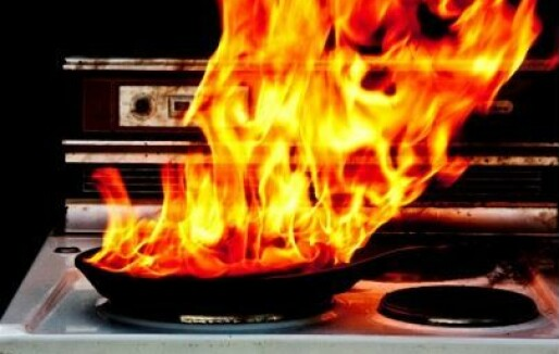 Feil bruk av brannstatistikk: Det er ikke sant at nesten halvparten av alle boligbranner starter på komfyren