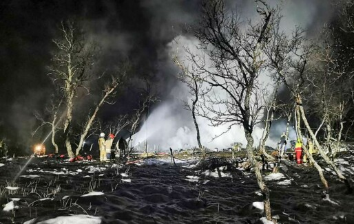 Tragisk hyttebrann: Verste dødsbrann siden 2008