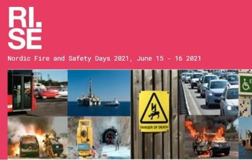 Nordic Fire & Safety Days 2021 går digitalt