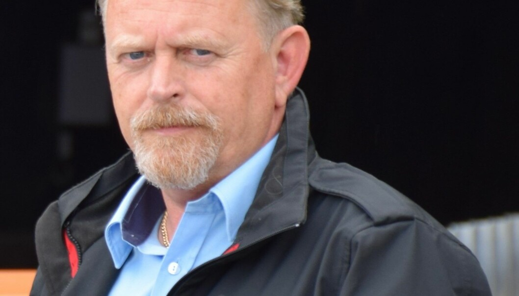 Geir Thorsen, brannsjef i Ålesund brannvesen KF