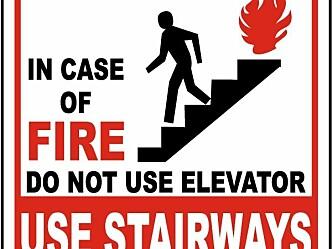 Bruk av heis til evakuering – en nødvendighet eller bare en trend?