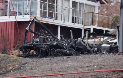 Krevende etterforskning av brannene i Vesterålen helgen før påske