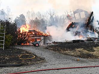 Tre nye tilfeller av brann på kort tid
