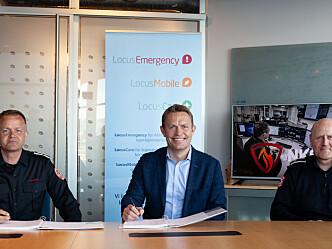 Inngår avtale med 110-nødsentralene i Norge verdt 234 millioner kroner