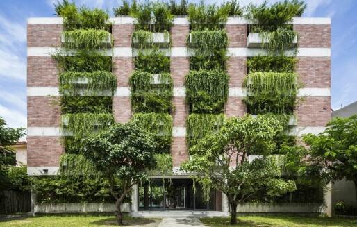Grønne fasader; er de en estetisk brannfelle?