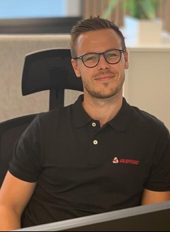 Adrian Andresen er markedskoordinator i Elotec.
