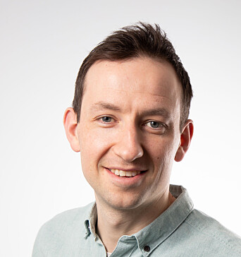 Christoph Meraner, prosjektleder hos RISE Fire Research/ FRIC
