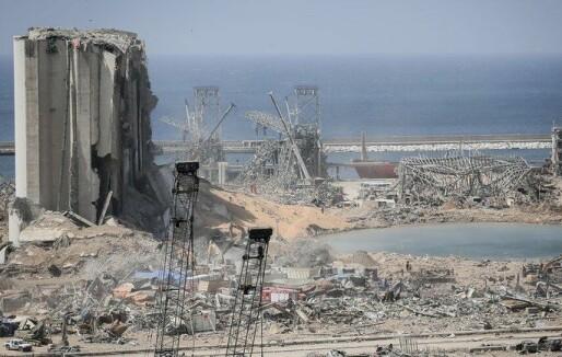 Libanon har fått rapport fra Frankrike om Beirut-eksplosjonen