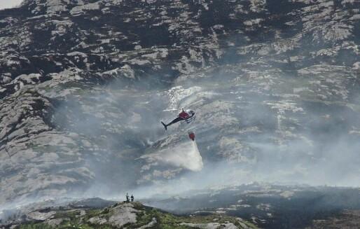 Hvordan slokkes skogbranner i Norge?