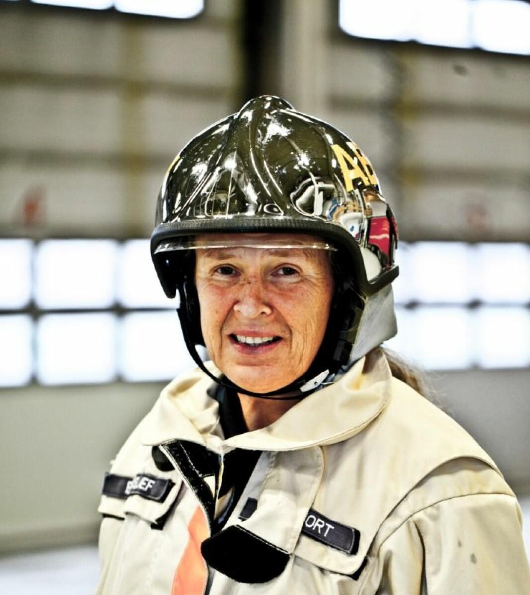Anne Hjort har vært brannsjef i Asker og Bærum brann og redning i 15 år.