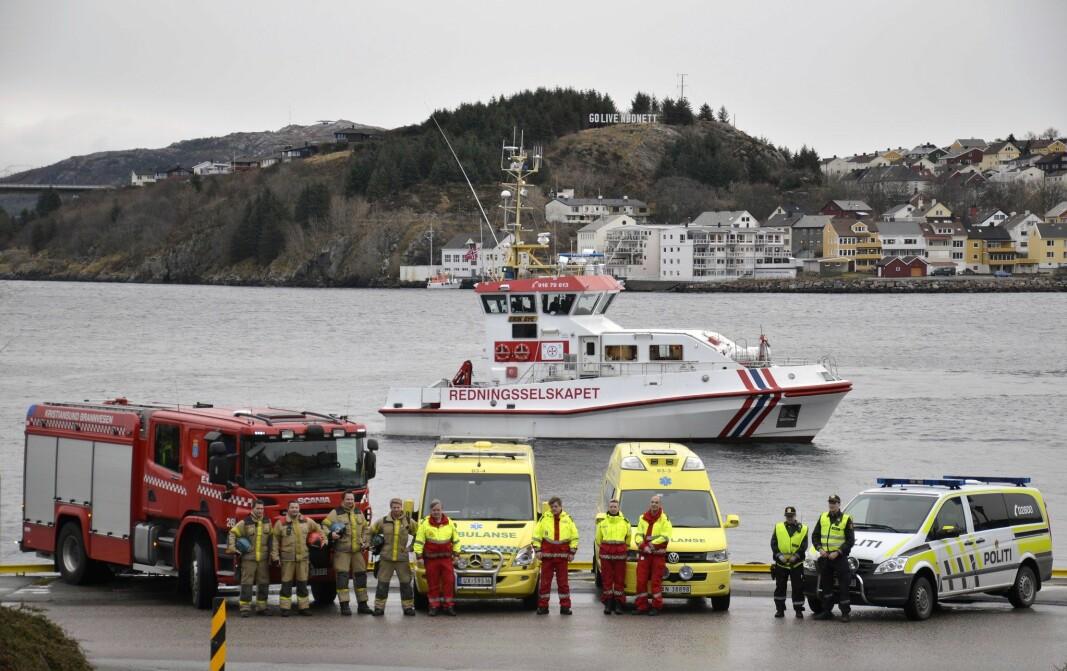 Nødnett i Kristiansund. RS
