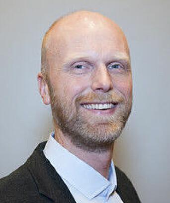 Arnstein Fedøy, styremedlem i Brannfaglig Fellesorganisasjon.