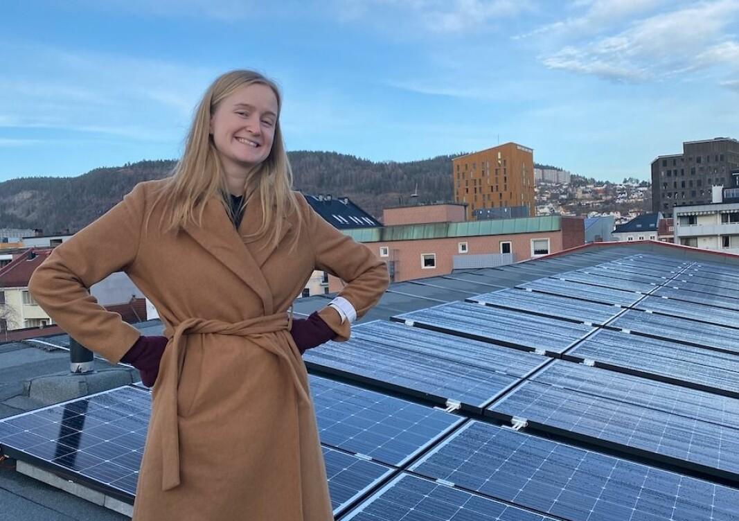 Marie Kolderup i Nelfo mener det er nødvendig med bredere informasjon og kunnskap ved montering av DC-brytere i solcelleanlegg.