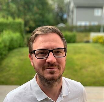Joakim Folkesson gleder seg til å ta fatt på nye utfordringer gjennom Ignist AS.