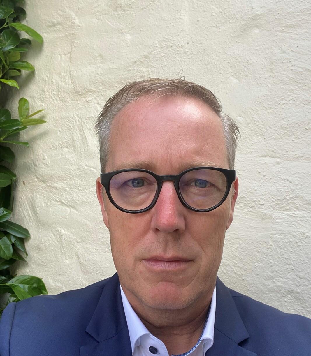 Administrerende direktør i Kebony, Norman Willemsen.