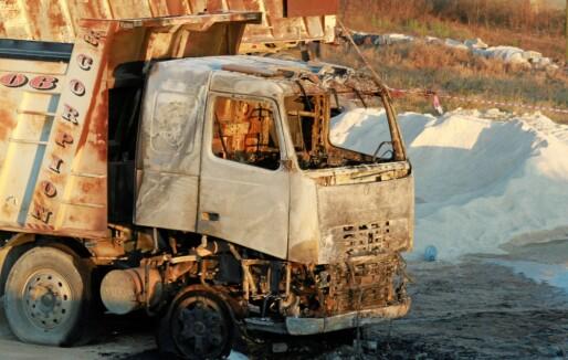 Tragisk eksplosjon av drivstofftank i Libanon