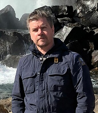 Frank Gustavson, fagsjef Brann i HENT.