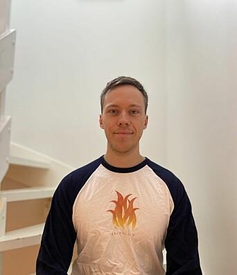 Eivind Holm Nøttveit er redaktør for Norges eneste podcast innenfor brannfaget.